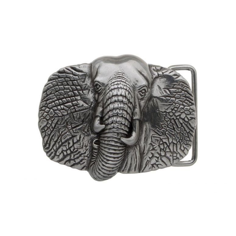 Elephant-English-Silver