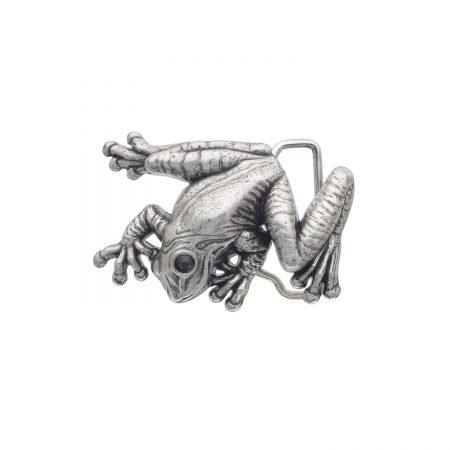Frog'S-Eye-English-Silver-Black-Strass
