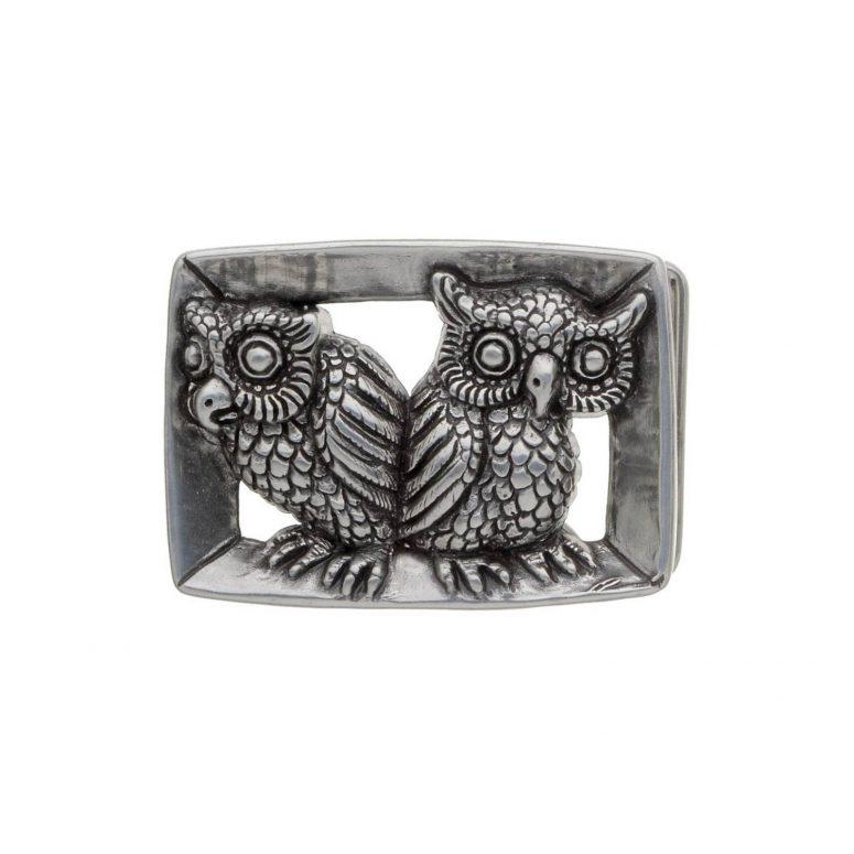 Owls-English-Silver